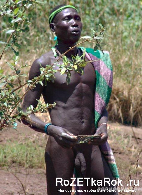 фото голых африканок в племене